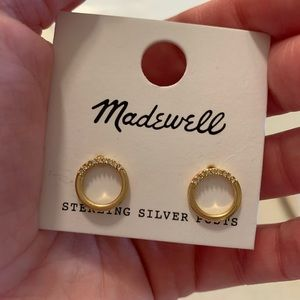 NWOT Madewell earrings